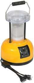 SUI Plastic Multifunction LED Lantern  Lamp With Mobile Charging, Hi/Low Lighting Option  (Multicolour, 3-watt)