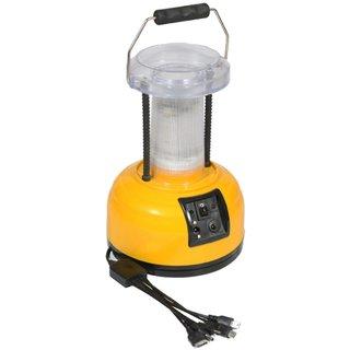 SUI Plastic Multifunction LED Lantern  Lamp With Mobile Charging, Hi/Low Lighting Option  (Multicolour, 3-watt)