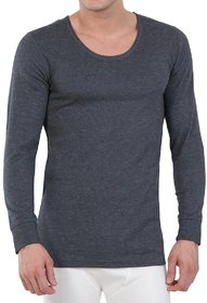 MRD DESIGNER HUB Quilted Thermal Round Neck Top/Body Warmer/Inners- Grey