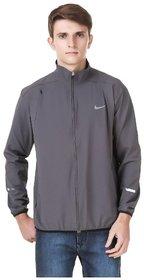 Nike Grey Polyester lycra Jacket
