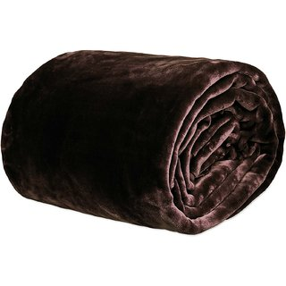 BSB HOME Mink Blanket Double Bed for Winter/Wollen (230X230 cm)