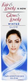 Glow  Lovely Winter Glow Face Cream- 50 g (Pack Of 2)