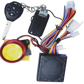 Love4ride Motorcycle/Bike Alarm Security System Button Remote Key Anti-Theft Alarm