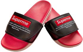 SUPREME Slide Red Flip flop