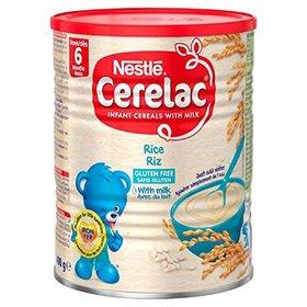 Nestle Cerelac Rice With Milk - 400g (Gluten Free)