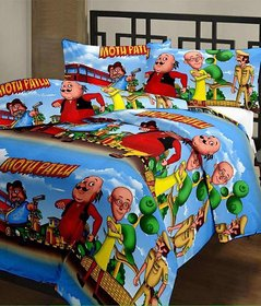 Cartoon Digital Printed Micra Reversible Single Bed AC Dohar