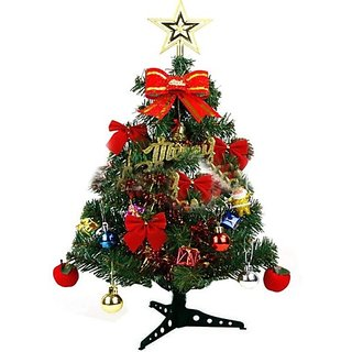 Floranso Pine 50 Cm (1.64 Ft) Artificial Christmas Tree(Green)
