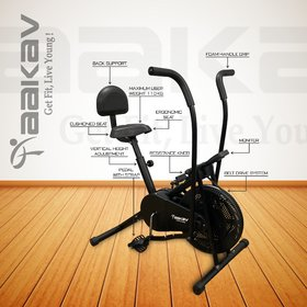AAKAV Air Bike with Back Support