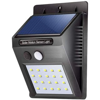 20 LED Solar Power LED Solar Light Outdoor Wall LED Solar lamp