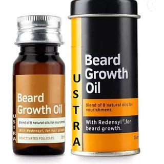 ustra  Beard Growth Oil for Men - 35ml