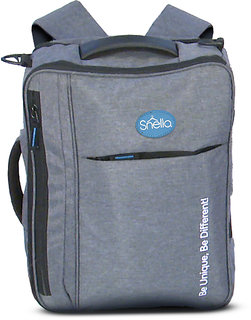 Snello Travel Laptop Bags  for Women and Men Grey
