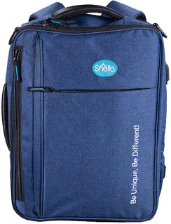 Snello Travel Laptop Bags  for Women and Men Nevy Blue