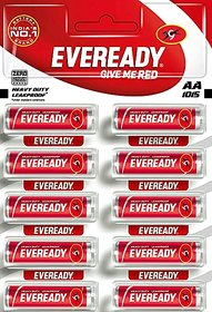 Eveready AA 1015 Long-lasting  Leakproof Batteries