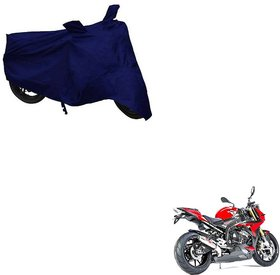 Auto Addict Bike Cover Blue Matty Bike Body Cover with Mirror Pockets For BMW S1000R
