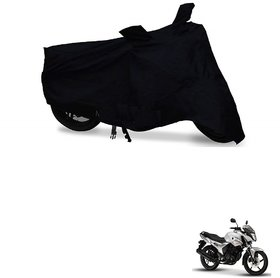 Auto Addict Bike Cover Black Matty Bike Body Cover with mirror pockets For Yamaha SZR03