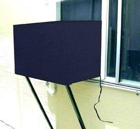 Cosmos kraft Window AC Cover 1.5 Ton Waterproof  Dustproof Color - Navy Blue