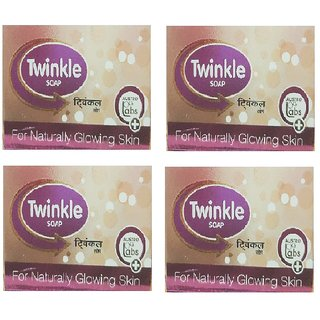 Twinkle Soap For Naturally Glowing Skin Pack-4