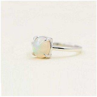 Natural Lab Certified 4 carat 100% Original Opal  Ring for unisex by Ratan Bazaar