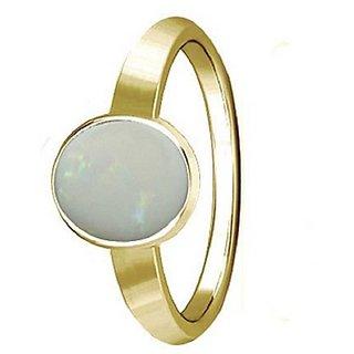 Opal Panchdhatu ADJUSTABLE 5.5 Carat  gold plated Ring by Ratan Bazaar
