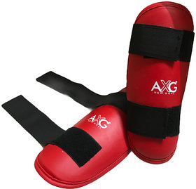 AXG Quality PU Taekwondo MMA Arm Guard (1 Pair) Suitable Age 9 to 15 Years