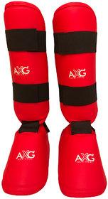 AXG Step In Karate Taekwondo Shin Pad Muay Thai Kick Kickboxing MMA Shin Guard