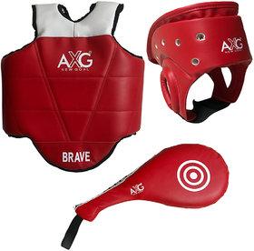 AXG Taekwondo Equipment Kit For MMA Kick Boxing And Other Martial Arts