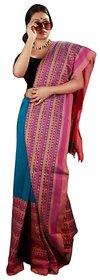 Begumpuri Khadi Cotton Saree
