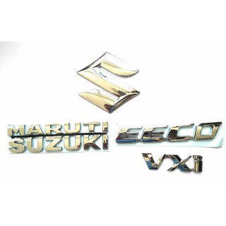 ZUPIN Monogram/Emblem/Badge/Logo for Maruti Suzuki EECO LXI Complete KIT