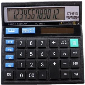 Electronic Calculator CT 512 Solar N Battery Powered 1PC