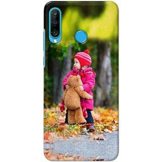 Digimate Latest Design High Quality Printed Designer Soft TPU Back Case Cover For Huawei P30 Lite - 0244