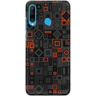 Digimate Latest Design High Quality Printed Designer Soft TPU Back Case Cover For Huawei P30 Lite - 3076