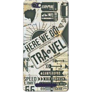 Digimate Latest Design High Quality Printed Designer Soft TPU Back Case Cover For Lava A72 - 0358
