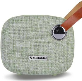 Zebronics ZEB-KNIGHT Bluetooth Speaker  (Green, Stereo Channel)