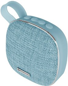 Zebronics Zeb-Passion, Zebronics Portable BT Speaker with mSD, FM, AUX, Mic & Fabric Finish (Blue)