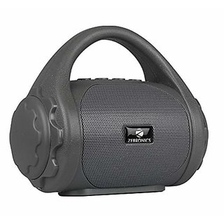 Zebronics Zeb-County Bluetooth Speaker With Built-in FM Radio and Call Function (Grey)