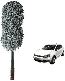 Auto Addict Car Microfibre Duster Brush Mop Car Cleaning Duster Mitt 1pc For Volkswagen Ameo