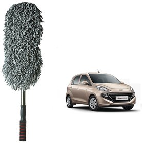 Auto Addict Car Microfibre Duster Brush Mop Car Cleaning Duster Mitt 1pc For Hyundai Santro New 2018