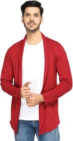 Glito Mens Stylish Solid Shrug/Cardigan For Men