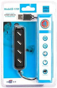 Bosstech 4 PORT USB HUB 2.0 SuperSpeed Portable with Switches.