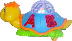 Gilol Happy Turtle With music and Projector Light(Multicolor)
