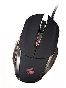 Zebronics Alien Pro Premium Wired Optical Gaming Mouse (USB 2.0, Black)