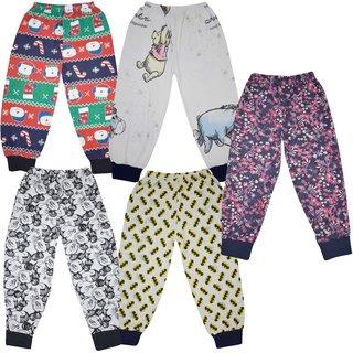 Jisha Hosiery Printed legging for Little Girls set of 5