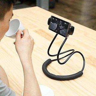AVN Elite Lazy Mobile Phone Neck Holder  Flexible 360 Degree Rotation  Lazy Bracket  (Multi Color)