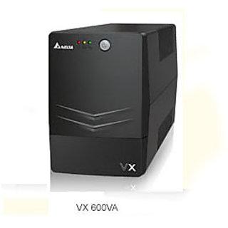 Delta Uninterruptible Power Supply (UPS) 600 VA VX Series, Line-interactive, 600/1000VA