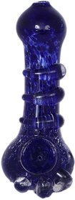 Calzar Blue 15 cm Glass Pipe,Smoking Pipe,Hookah