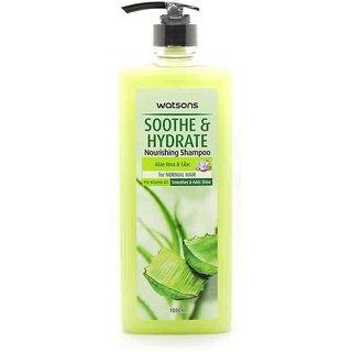 Watsons Aloe Vera Lilac Soothe Hydrate Nourishing Shampoo 1000ml