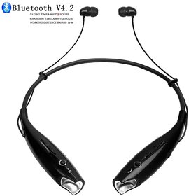 Azonmart HBS-730 Bluetooth Stereo Sports Wireless Portable Neckband Headset for All Smartphone