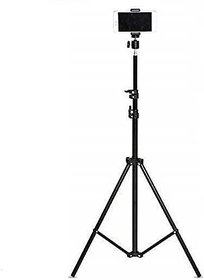 6.9 feet (20cm) strong Metal mobile phone tripod/camera stand,beauty ring fill light stand, photography umbrella ,selfi