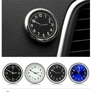 EVELYN Car Dashboard Clock (Assorted Color)