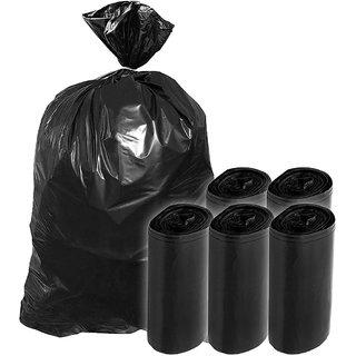 Garbage Bag - 19X21 Inch, Pack of 30 Piece, Medium, Black